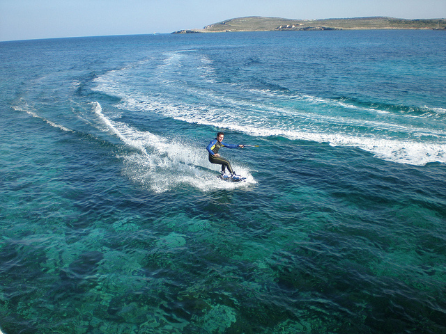 Malta weather water skiing