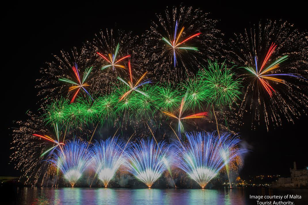 Events in Malta Fireworks Festival